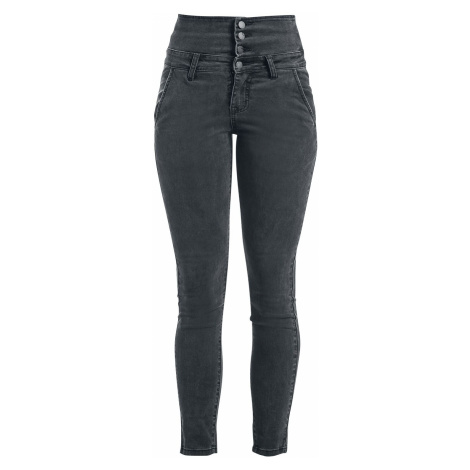 Forplay High Waist Denim Jeans Jeans grey