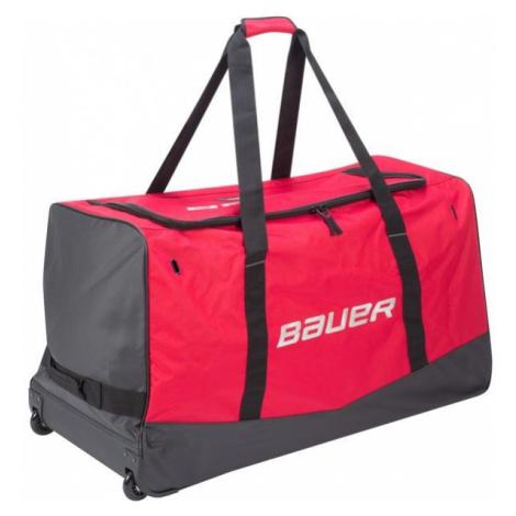 Bauer CORE WHEELED BAG JR red - Children's hockey bag
