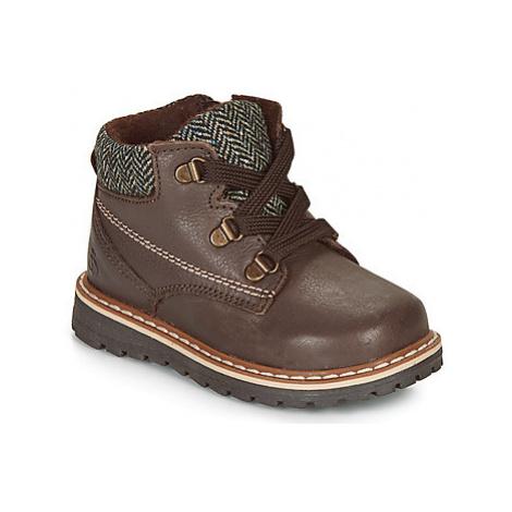 Citrouille et Compagnie HEFINETTE boys's Children's Mid Boots in Brown