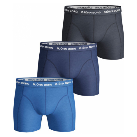 Noos Solids Boxer Shorts 3 Pack Men Bjorn Borg