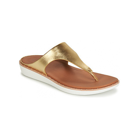 FitFlop BANDA II women's Flip flops / Sandals (Shoes) in Gold