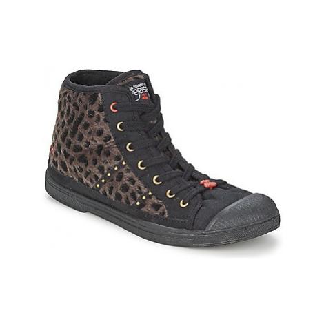 Le Temps des Cerises BASIC 04 women's Shoes (High-top Trainers) in Black