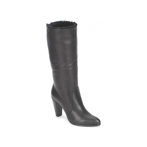 Michel Perry CALF women's High Boots in Black