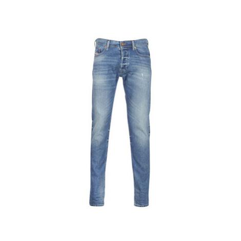 Diesel TEPPHAR men's Skinny Jeans in Blue
