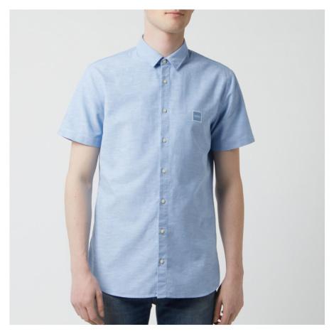 BOSS Hugo Boss Men's Magenton Shirt - Sky Blue - Blue