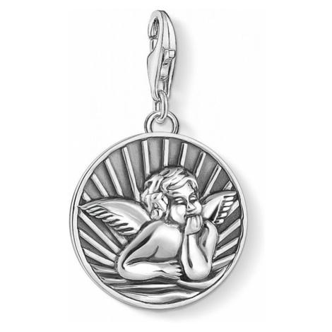 Ladies Thomas Sabo Sterling Silver Charm Club Angel Charm 1706-637-21
