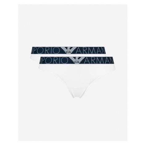 Emporio Armani Briefs 2 Piece White