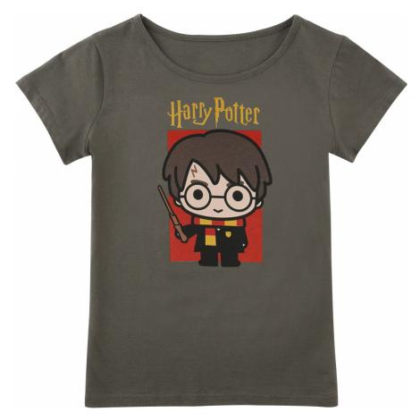 Harry Potter Chibi Harry T-Shirt khaki