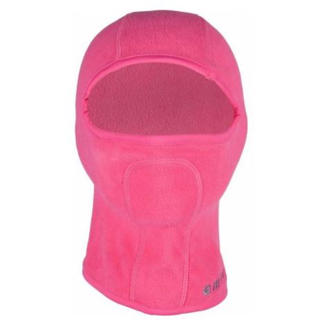 Hi-Tec BALACLAVA II JR pink - Girls' balaclava