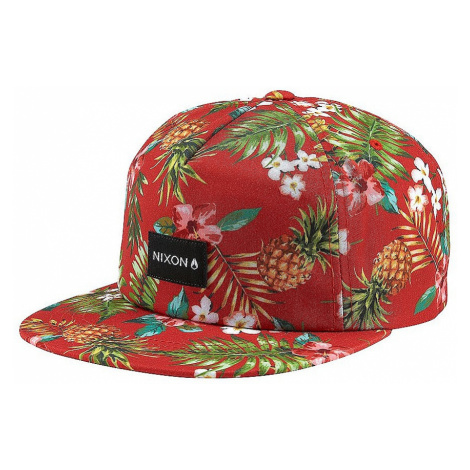 cap Nixon Tropics Snapback - Red - men´s