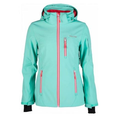 Willard DEDE blue - Women's softshell ski jacket