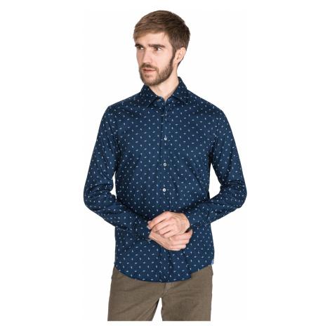 BOSS Lukas 53 Shirt Blue Hugo Boss