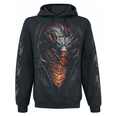 Spiral - Draconis - Hooded sweatshirt - black