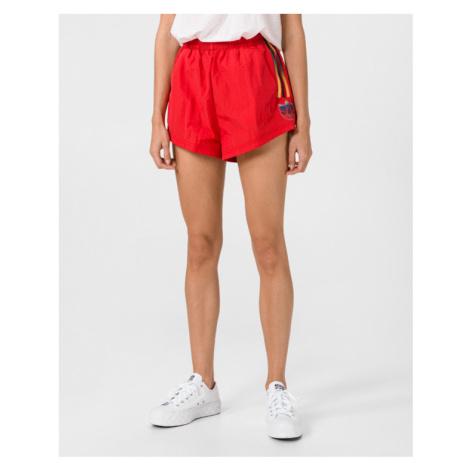 adidas Originals Adicolor 3D Trefoil Shorts Red
