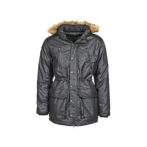 Le Temps des Cerises CAYNE men's Parka in Black