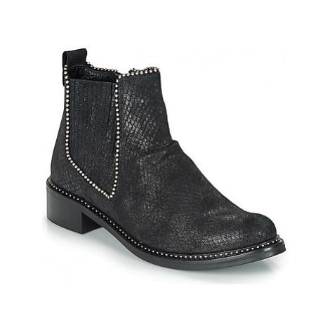 Regard ROAL V1 CROSTE SERPENTE PRETO women's Mid Boots in Black