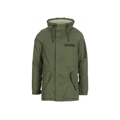 Superdry WINTER AVIATOR PARKA men's Parka in Kaki