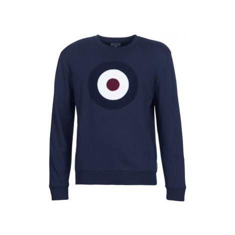 Ben Sherman APPLIQUE TARGET SWEATSHIRT men's Sweatshirt in Blue