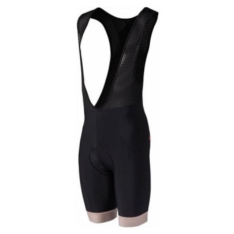 Rosti VELOCIPEDE black - Men's cycling bib shorts