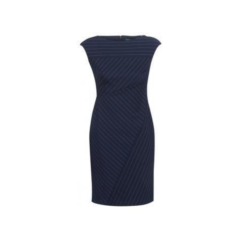 Lauren Ralph Lauren CAP SLEEVE-DAY DRESS women's Dress in Blue