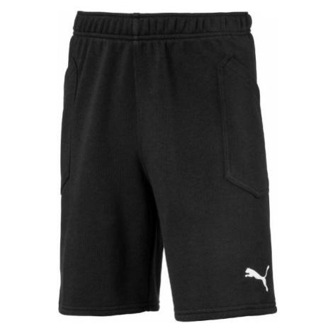 Puma LIGA CASUALS SHORTS JR black - Children's shorts