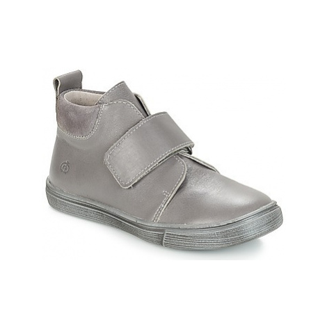Grey boys' ankle boots