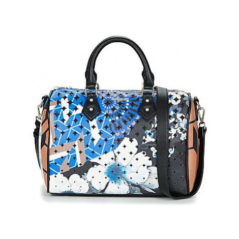 Desigual GEOPATCH BOWLING women's Handbags in Blue