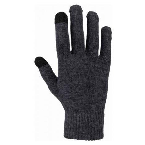 Willard WILL grey - Knitted gloves