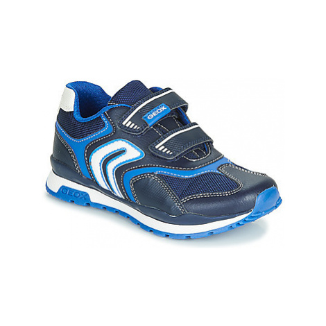 Geox J PAVEL boys's Children's Shoes (Trainers) in Blue