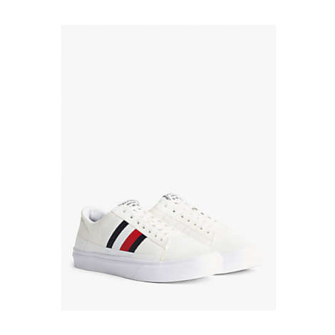 Tommy Hilfiger Lightweight Knit Trainers, White