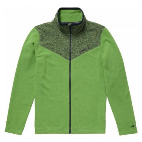 O'Neill PB RAILS FZ FLEECE green - Boys' sweatshirt