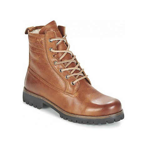 Blackstone MAZINE women's Mid Boots in Brown