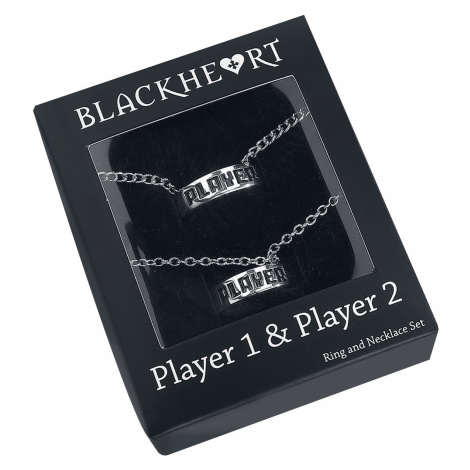 Blackheart - Player - Necklace - silver-coloured