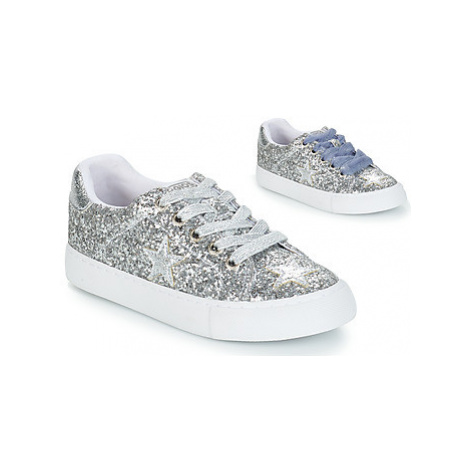 Gioseppo TROYES girls's Children's Shoes (Trainers) in Silver