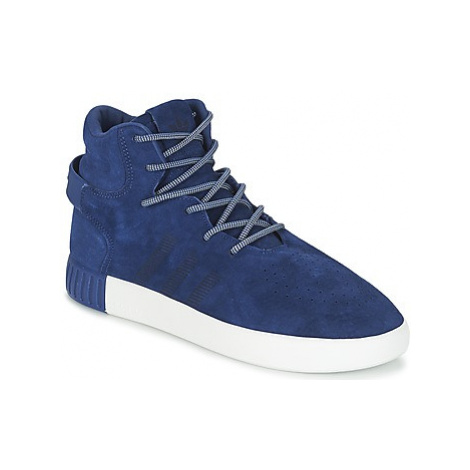 Adidas TUBULAR INVADER men's Shoes (High-top Trainers) in Blue