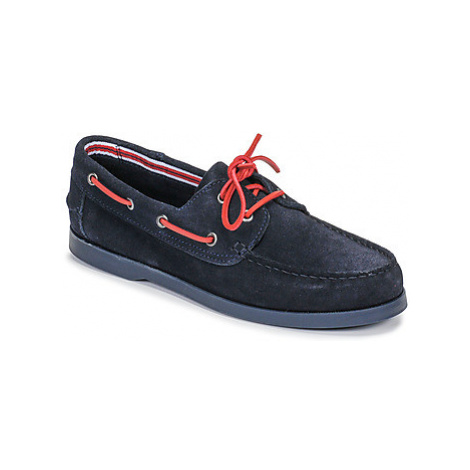 Casual Attitude JALAYAVE men's Boat Shoes in Blue