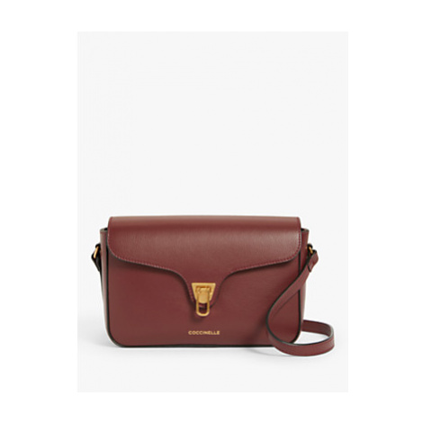 Coccinelle Beat Soft Tumbled Leather Shoulder Bag