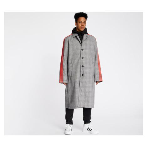 adidas x 424 Trench Coat White/ Black/ Red