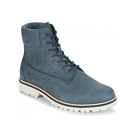 """Timberland CHILMARK 6"""" BOOT men's Mid Boots in Blue"""