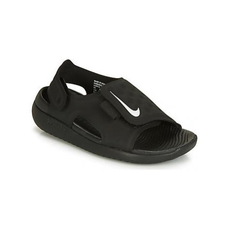 Nike SUNRAY ADJUST 5 girls's Children's Sandals in Black