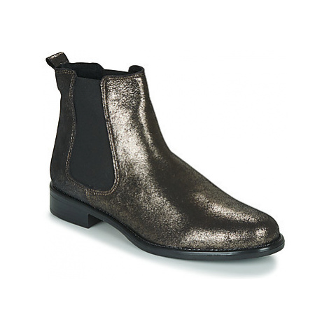 Betty London NORA women's Mid Boots in Gold