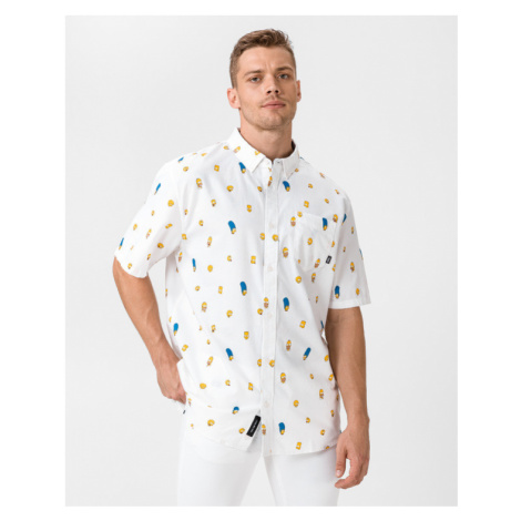 Vans The Simpsons Shirt White