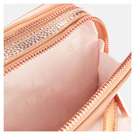 Ted Baker Women's Stina Double Zip Mini Camera Bag - Rose Gold