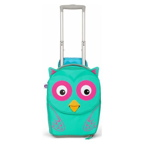 suitcase Affenzahn Olivia Owl - Turquoise/Rose/Yellow - kid´s