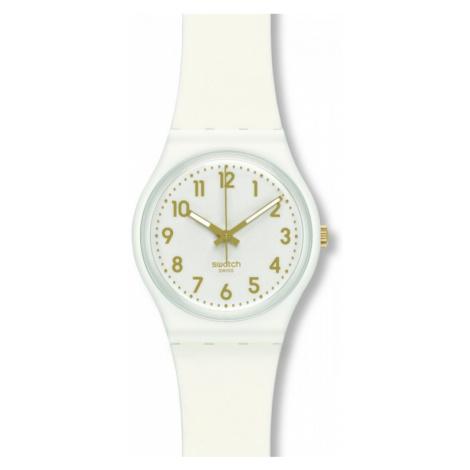 Ladies Swatch White Bishop Watch GW164