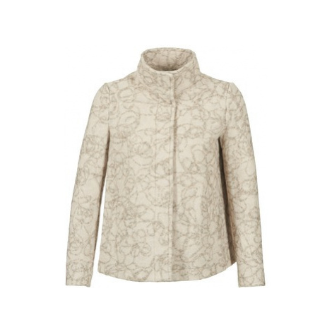 Benetton DUGO women's Coat in Beige United Colors of Benetton