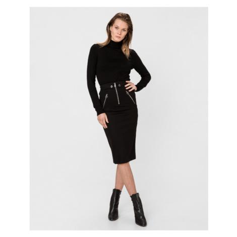 Guess Ponte Skirt Black