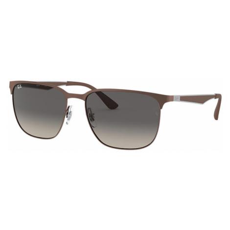 Ray-Ban Rb3569 Man Sunglasses Lenses: Gray, Frame: Gunmetal - RB3569 121/11 59-17