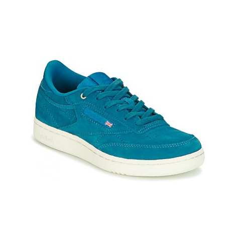 Reebok Classic CLUB C 85 MCC boys's Children's Shoes (Trainers) in Blue