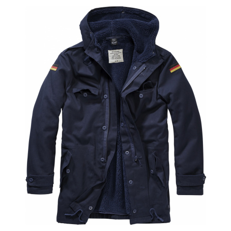 Brandit - BW Parka Flag - Coat - navy